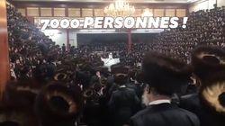 Des milliers de personnes sans masque ont assisté à ce mariage dans une synagogue de New
