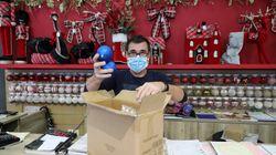 Καταστήματα Χριστουγεννιάτικων ειδών: Τηλεφωνικά ή διαδικτυακά οι