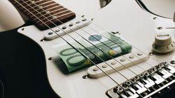 Il contributo economico dell'industria musicale al PIL dell'Unione