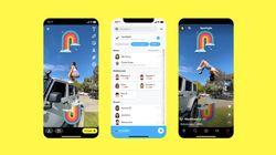 Snapchat imite la fonctionnalité qui a fait le succès de