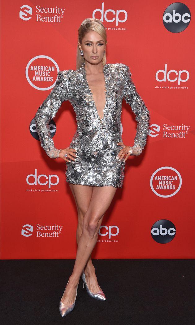 Paris Hilton at the 2020 American Music