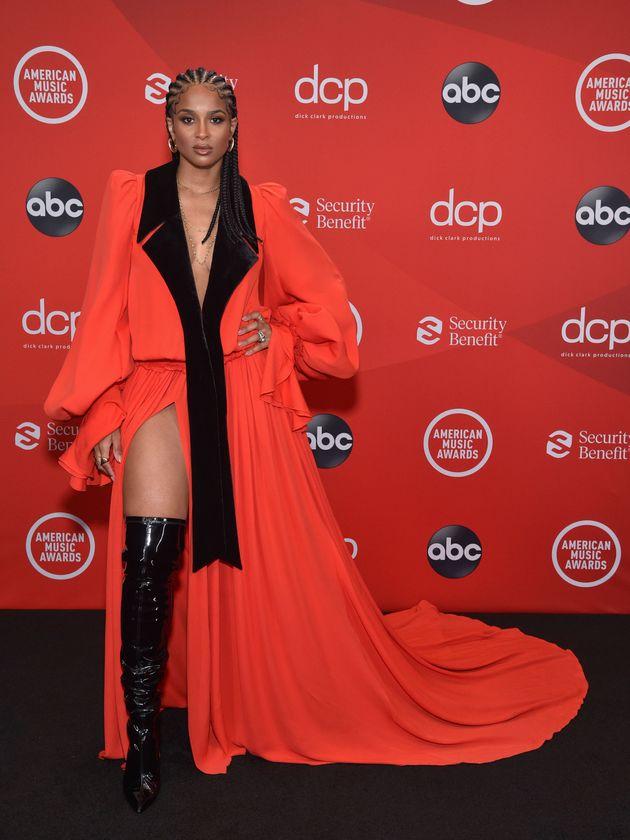 Ciara at the 2020 American Music