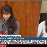 Irene Montero no da crédito a lo que oye de una diputada de Vox y su respuesta no puede ser más