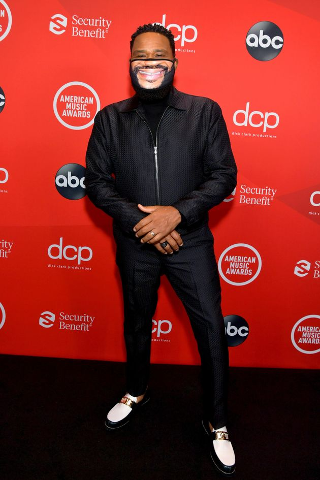 Anthony Anderson attends the 2020 American Music Awards at the Microsoft Theater on Sunday in Los