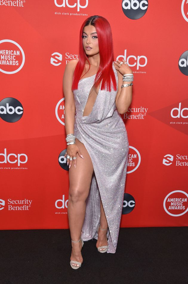 Bebe Rexha at the 2020 American Music