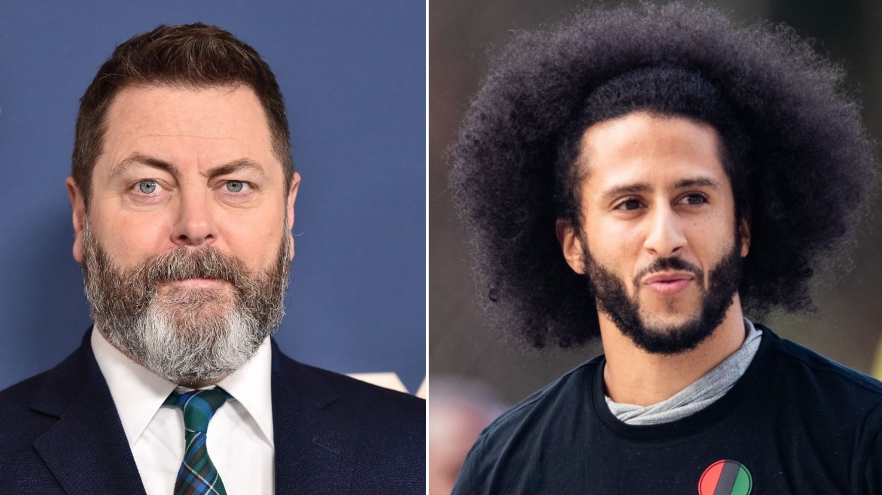 Nick Offerman Calls Colin Kaepernick His Hero After Being Cast In Series About Him