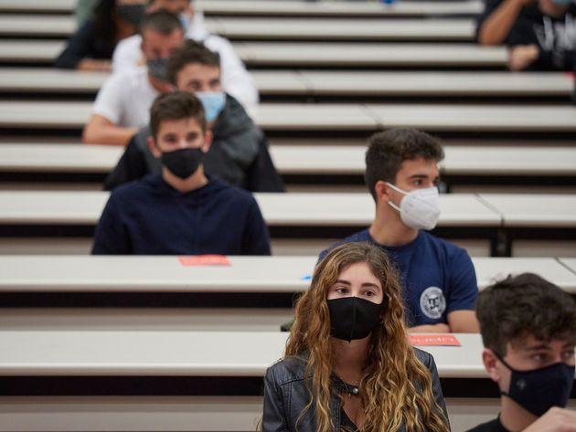 Alumnos en la Universidad Pública de