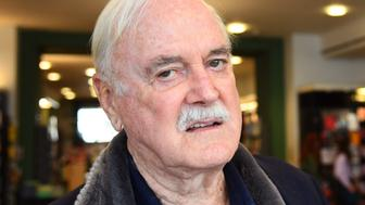 """LONDON, ENGLAND - SEPTEMBER 10: John Cleese during a book signing at Waterstones Piccadilly to promote his book """"Creativity: A Short and Cheerful Guide"""" on September 10, 2020 in London, England. (Photo by Dave J Hogan/Getty Images)"""