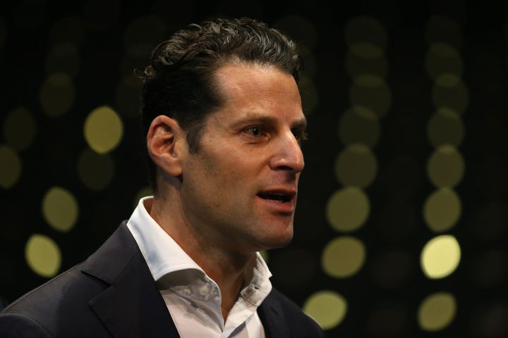 ARIA CEO Dan Rosen speaks during a press conference in June 2020.