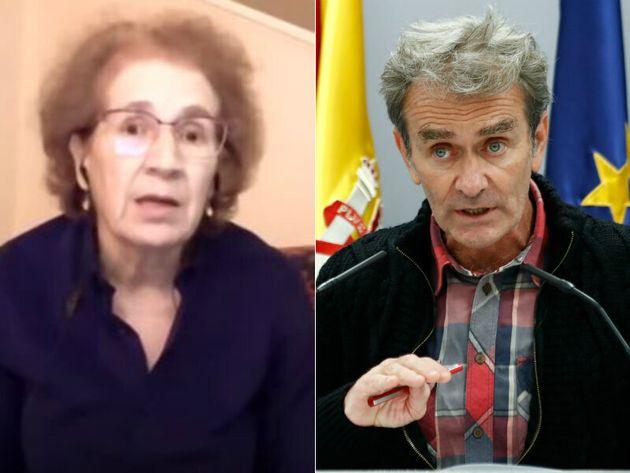 Margarita del Val y Fernando