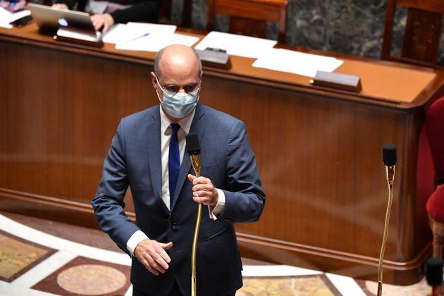 Le ministre de l'Éducation, de la jeunesse et des Sports Jean-Michel Blanquer à l'Assemblée...
