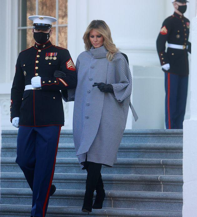Melania Trump, tan pichi sin