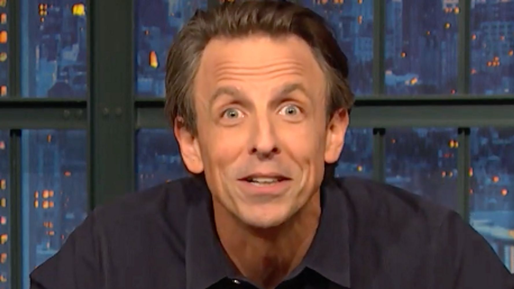 Seth Meyers Names 2 Things He Definitely Won't Miss From The Donald Trump Era