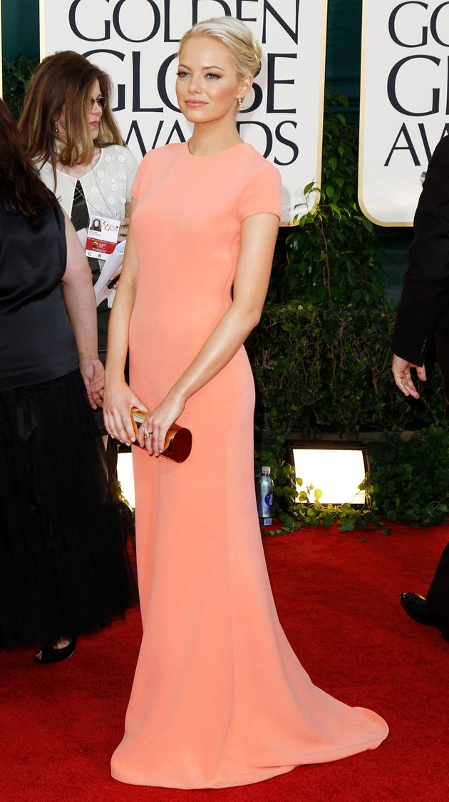 Emma Stone's Mum Made Fake Small Talk With Angelina Jolie And Brad