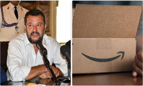 Salvini incontrerà il vertice di Amazon Italia