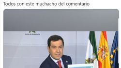 El mensaje que le han dejado al presidente de Andalucía en una comparecencia va camino de romper