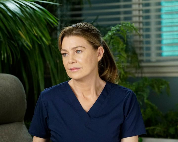"""Pompeo as Meredith Grey in """"Grey's Anatomy."""""""
