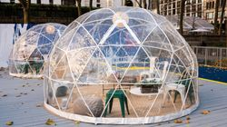 Indoors, Outdoors, In A Bubble: How Safe Is Restaurant Dining During