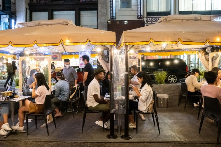 """Even with social distancing, ventilation is imperative for&nbsp;<a href=""""https://www.today.com/food/are-outdoor-dining-igloos-safe-what-experts-want-you-know-t196471"""">enclosed outdoor dining</a>, whether it&rsquo;s in an igloo, tent or bubble."""