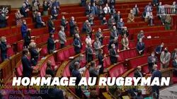 L'hommage debout de l'Assemblée nationale à Christophe
