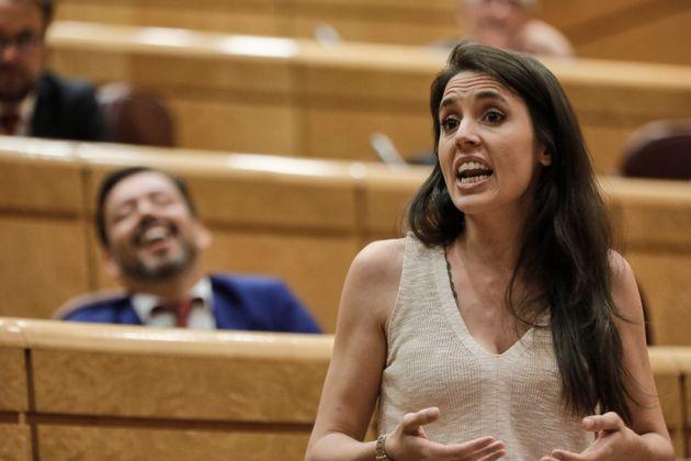 La ministra de Igualdad, Irene Montero, el pasado 14 de julio en el