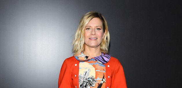 Marina Fois au défilé Louis Vuitton à la Fashion Week de Paris, 3 mars