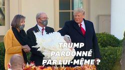 Trump gracie une dinde pour Thanksgiving mais refuse de dire s'il se graciera