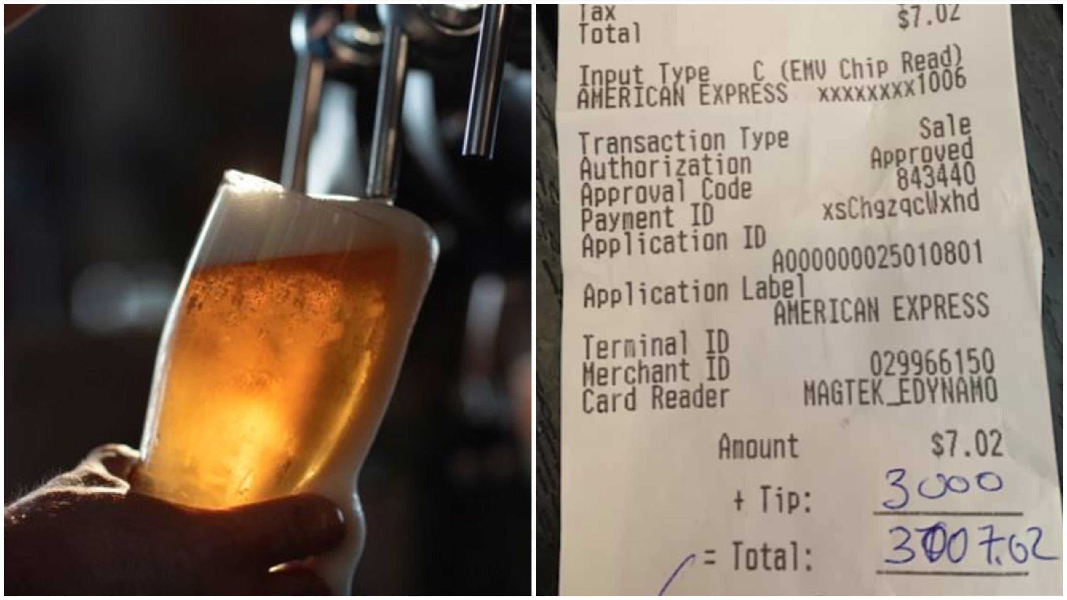 ビール1杯に30万円のチップ。コロナ禍で休業するレストランを励ますために