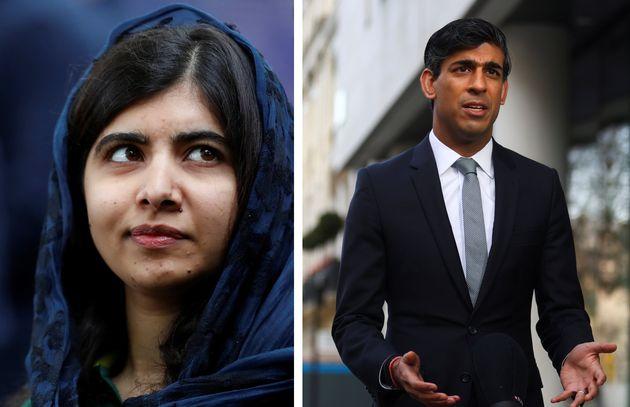 Malala Yousafzai has urged chancellor Rishi Sunak not to cut the overseas aid budget in Wednesday's Spending