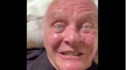El perturbador vídeo de Anthony Hopkins que resume a la perfección los efectos de la