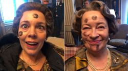 The Crown's Gillian Anderson Shares Hilarious Behind-The-Scenes 'Ibble Dibble'