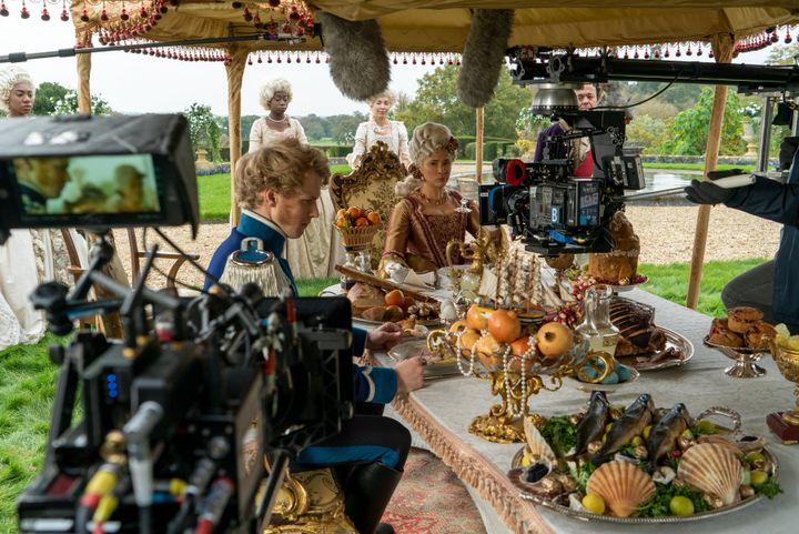 A behind-the-scenes look at Bridgerton