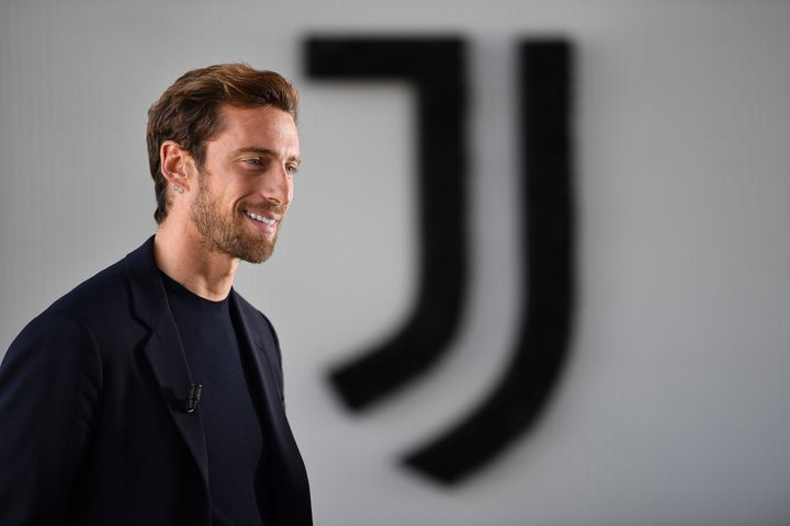 TURIN, ITALY - OCTOBER 03:  Former Juventus player Claudio Marchisio retires from football at Allianz Stadium on October 3, 2019 in Turin, Italy.  (Photo by Valerio Pennicino - Juventus FC/Juventus FC via Getty Images)