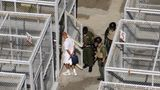 "A October 25, 2004 file photo shows a guard at San Quentin prison checking doors of cells housing death row inmates inside San Quentin prison.  A California judge March 16, 2005 sentenced former fertilizer salesman Scott Peterson to death for the murder of his wife and unborn son in a case that attracted nationwide attention. Superior Court Judge Alfred Delucchi sentenced Peterson after calling him ""cruel, uncaring, heartless and callous."" Earlier, Laci Peterson's family emotionally condemned the shackled prisoner, prompting Scott Peterson's parents to leave the courtroom. In November, a jury convicted Peterson, of Modesto, California, of killing his pregnant, 27-year-old wife, Laci, and unborn son on Christmas Eve 2002. An October 25, 2004 file photo shows a death row inmate is taken out of his exercise pen by prison guards at San Quentin prison. REUTERS/Clay McLachlan/files"
