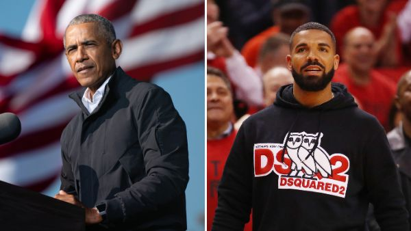"Former president Barack Obama thinks Drake playing him in a biopic would be a ""fine idea."""