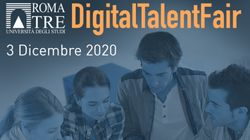 La Digital Talent Fair di Roma Tre per l'orientamento