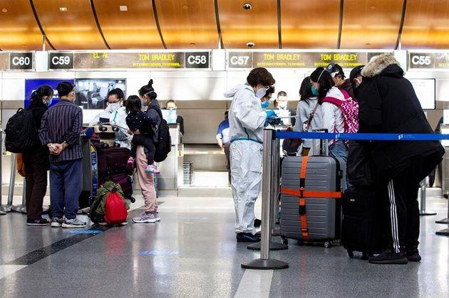 Imagen del aeropuerto de Los Ángeles