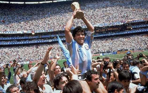 Diego Maradona a permis à l'Argentine de remporter la Coupe du monde en