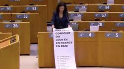 Au Parlement Européen, Manon Aubry fait le décompte glaçant des victimes de féminicides en