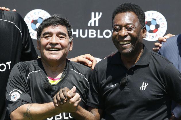 Addio a Maradona, Pelé: Un giorno giocheremo insieme in cielo