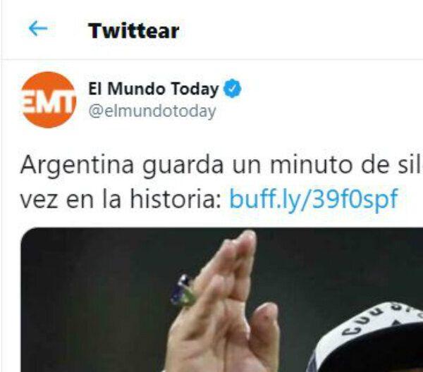 El tuit de 'El Mundo