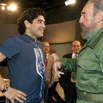 Maradona muore lo stesso giorno di Fidel Castro. E anche di George