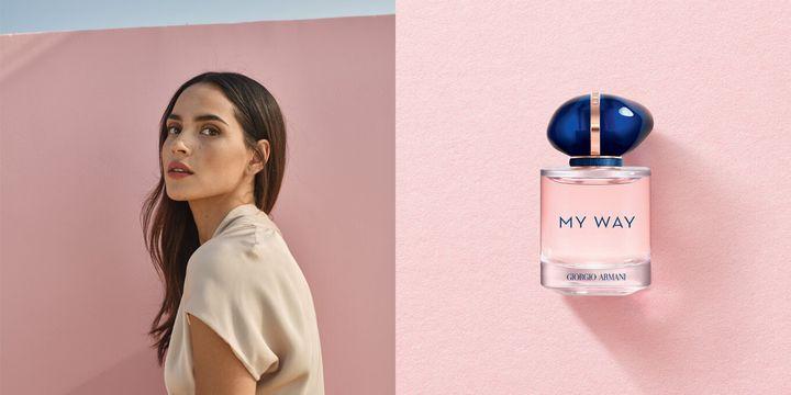 L'actrice portoricaine Adria Arjona est l'égérie du parfum My Way.
