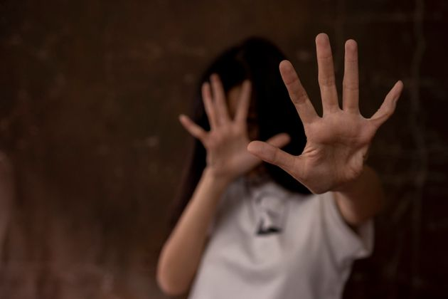 Stop Sexual abuse Concept, stop violence against Women, international women's