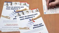 Pour les prochaines élections, les procurations seront en partie