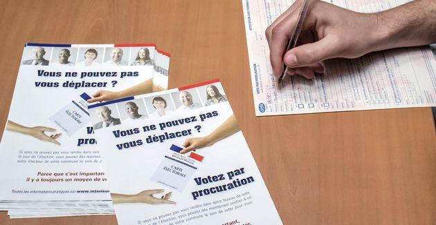 Les procurations seront en partie numérisées pour les prochaines élections (Photo...