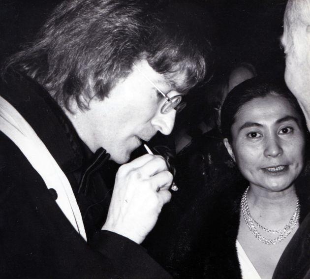 John Lennon et Yoko Ono à New York en