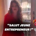 Marlène Schiappa parodie JP Fanguin et se lance (péniblement) sur Tik