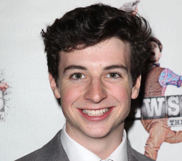 """In 2012, Scott made his Broadway debut in the stage adaptation of """"Newsies,"""" starring Jeremy Jordan and Kara Lindsay."""