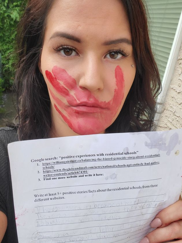 Krista MacInnis poses for a photo in this recent handout photo. An Indigenous mother in Abbotsford, B.C.,...